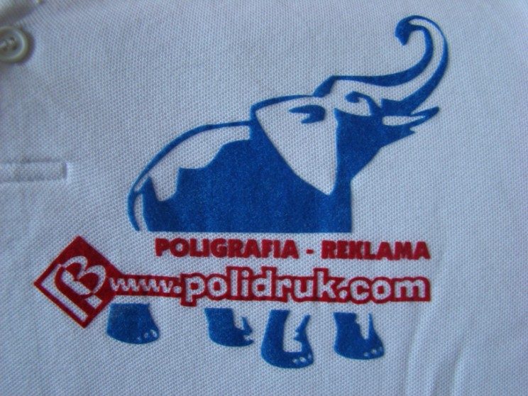Nadruki na koszulkach Gdańsk - flock | polidruk.com