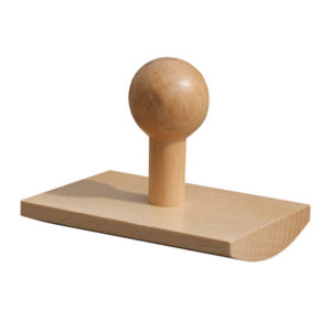 Stemple drewniane Gdańsk. Stempel prostokątny w formie kołyski | polidruk.com