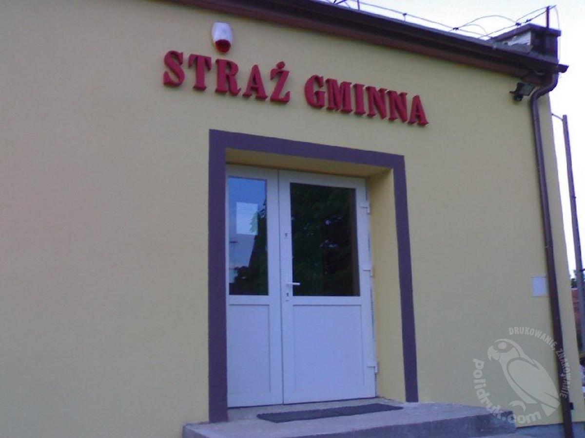 Grafika przestrzenna, styrodur Gdańsk | polidruk.com