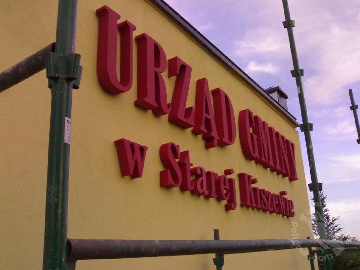 Grafika przestrzenna - styrodur Gdańsk | polidruk.com